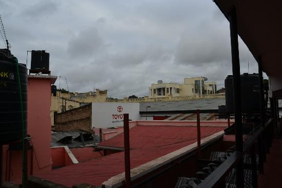 Arusha Naaz Hotel: Vue de ma chambre