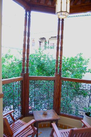 Ryad Salama Fes: Balcony