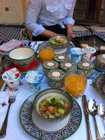 Ryad Salama Fes: Breakfast!