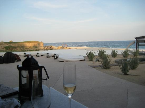 Las Ventanas al Paraiso, A Rosewood Resort: view at dinner