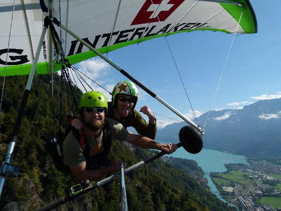 Hang Gliding Interlaken: wheeeeeee