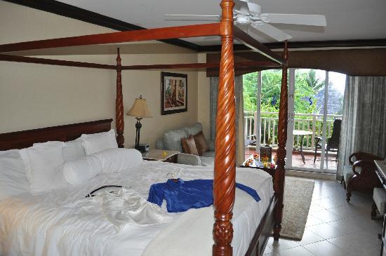 Sandals Grande St. Lucian Spa & Beach Resort: notre chambre