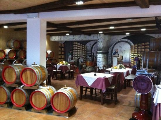 Acetaia del Balsamico Trentino Bed & Breakfast: Restaurant