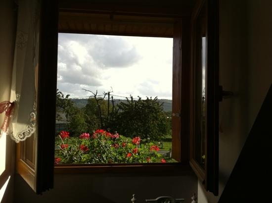 Au Temps des Cerises : our bedroom window view