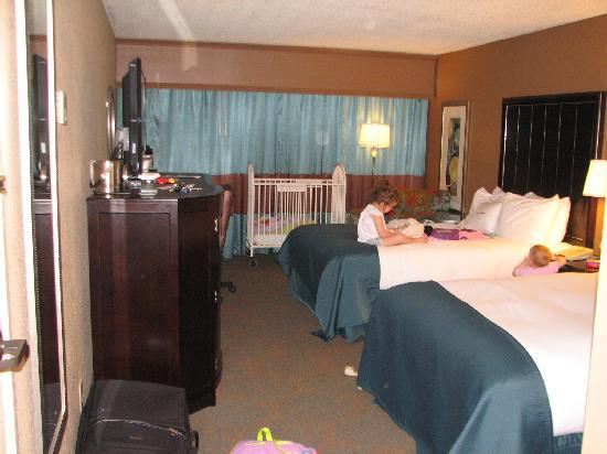 DoubleTree by Hilton Hotel Columbus: Standard double room