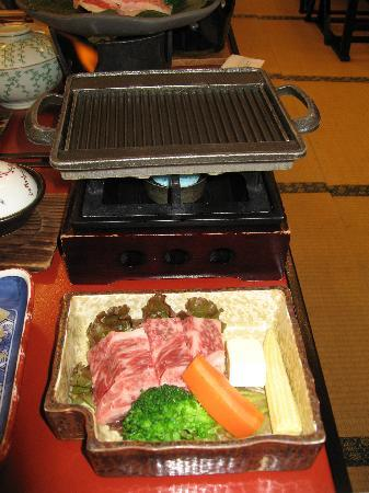 Kyushu Hotel: 追加の牛ステーキ
