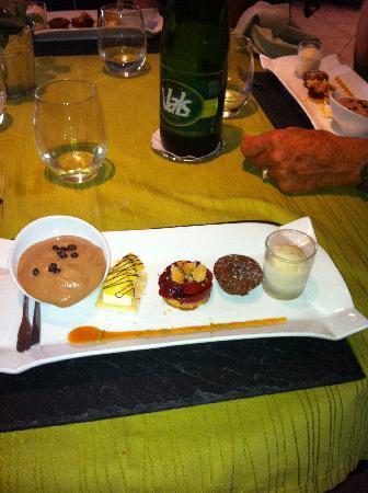 Nature Gourmande : assortiment de dessert