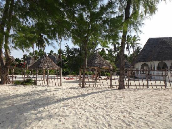 Visitor's Inn Hotel: beach and hotel