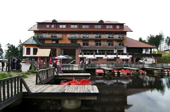 Berghotel Mummelsee : Hotel