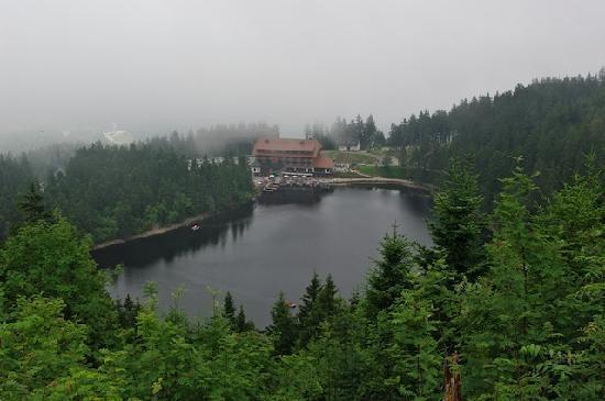 Berghotel Mummelsee : Blick auf Hotel