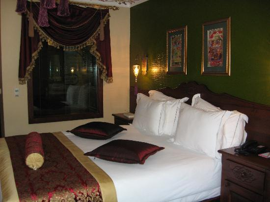 Rose Garden Suites Istanbul: Double room clean and comfortable