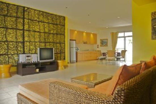 Sunvillas Hua Hin Blue Lagoon: Living Room
