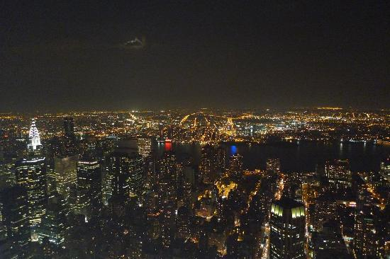Empire State Building: View from 86th floor