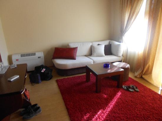 Hotel Gold: Sitting Area