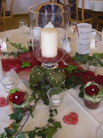 Deko Beispiel Fur Hochzeit Picture Of Sonneck Restaurant