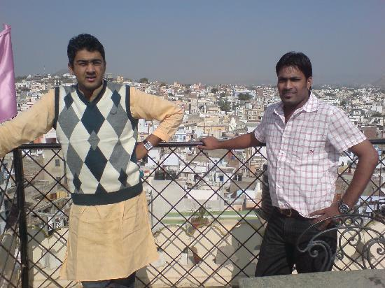 OYO Rooms Jagdish Chowk: a eagle view of the old city