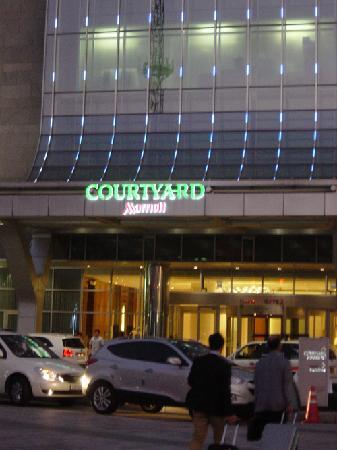 Courtyard by Marriott Seoul Times Square: エントランス
