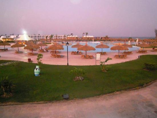 Gorgonia Beach Resort: Vista dal ristorante principale