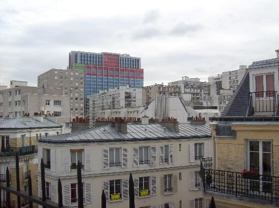 Hotel Boissiere: Una vista dal 6° piano