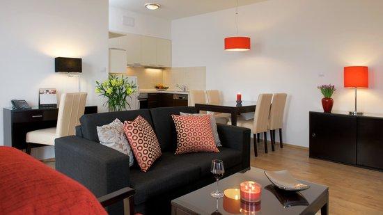 Fraser Residence Budapest: 1 bd room apartment