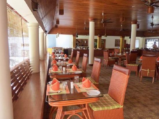 The Elephant Court Thekkady : Le restaurant de l'Elephant Court à Periyar