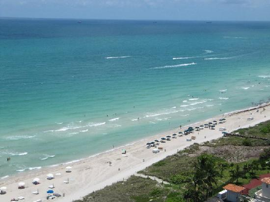 Vista desde la habitación del Grand Beach Hotel