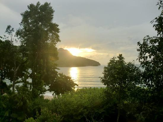 The Andaman, A Luxury Collection Resort: view of sunset over bay