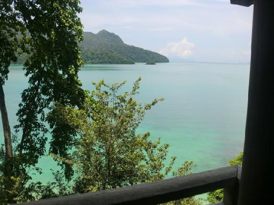 The Andaman, A Luxury Collection Resort: view of bay from treatment suites