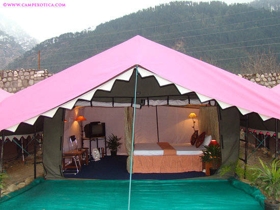 Haripur, India: Swiss LuxuryTent