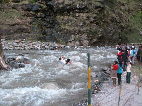 Camp Exotica: River crossing
