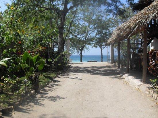 Villa Rosa: vue de la mer depuis les chambres