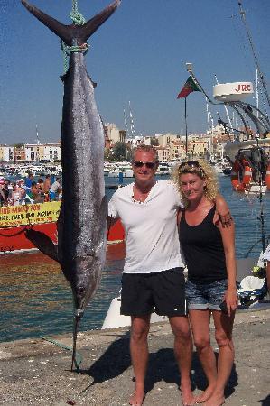 """Polvo Watersports Algarve: """"It was this big!"""""""