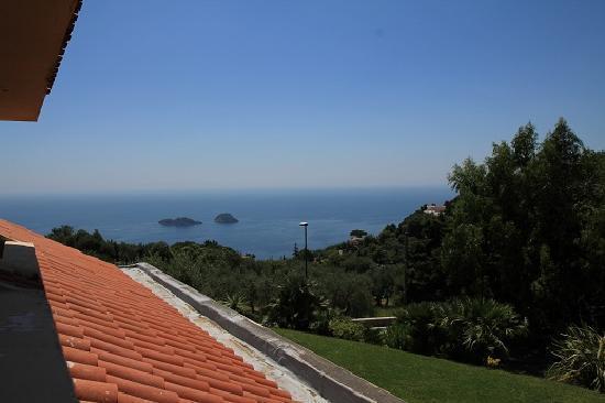 Hotel Antico Parco del Principe : Sea view