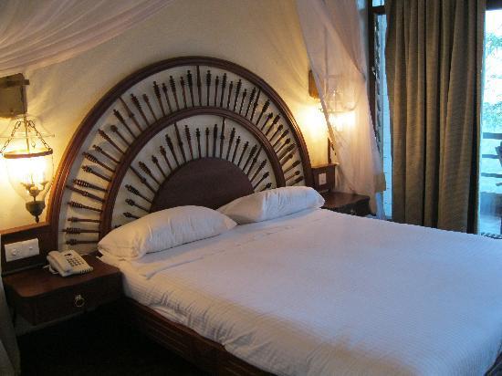 Lake Manyara Wildlife Lodge: My bedroom