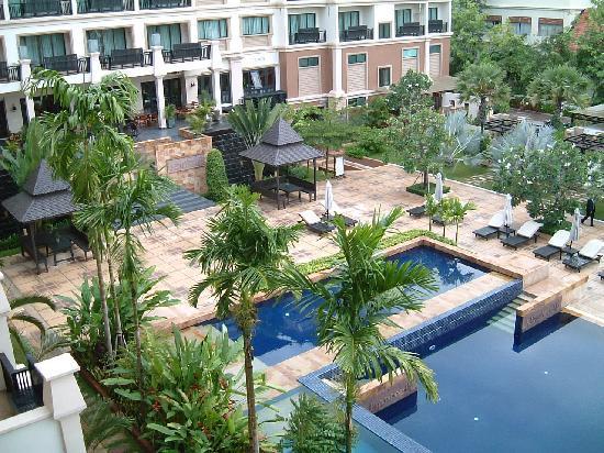 Angkor Miracle Resort & Spa: 部屋からの眺め