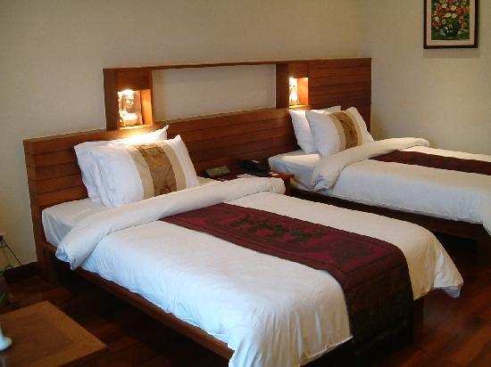 Angkor Miracle Resort & Spa: お部屋もきれい