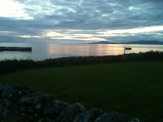 Creevy Holiday Cottages : Creevy Pier at Sunset.