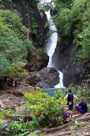 Ko Chang, Thailand: Khlong Phlu Waterfall
