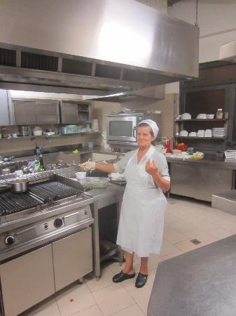 Enoteca Ristorante Gallo Nero: the quintessential Italian grandmother making kitchen magic