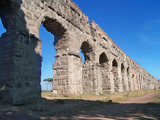 TopBike Rental & Tours: Ancient Roman Aqeducts