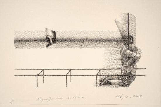 "Museum of Modern Ukrainian Art: MMUA: Y.Charyshnikov. Gogol's ""Petersburg Novellas"" Series"