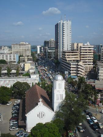 Holiday Inn Dar Es Salaam City Centre: View from the terrace