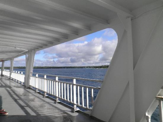 Southbay Guesthouse: On the deck of the ferry