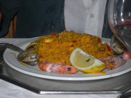 Restaurante Terraza del Gato : paella Terraza del gato