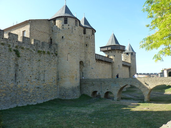Excellent little hotel review of cote cite carcassonne for Hotels carcassonne