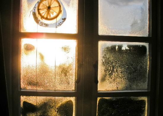 Condensation inside Window