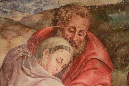 Spello, Italy: Giuseppe accetta la Madonna (dipinto di Dono Doni)