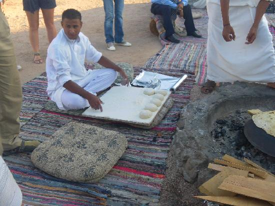 Rixos Sharm El Sheikh: Bread making