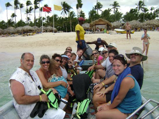 Iberostar Punta Cana: snorkeling boat