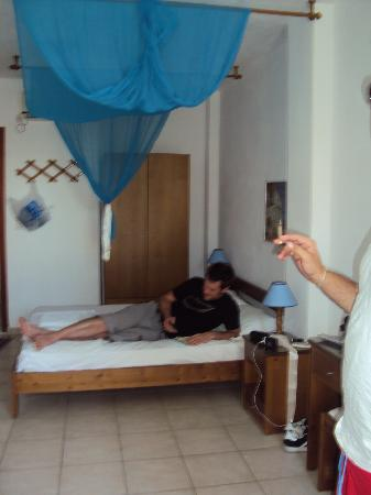 Ageri-Milos: The inside of our bedroom.